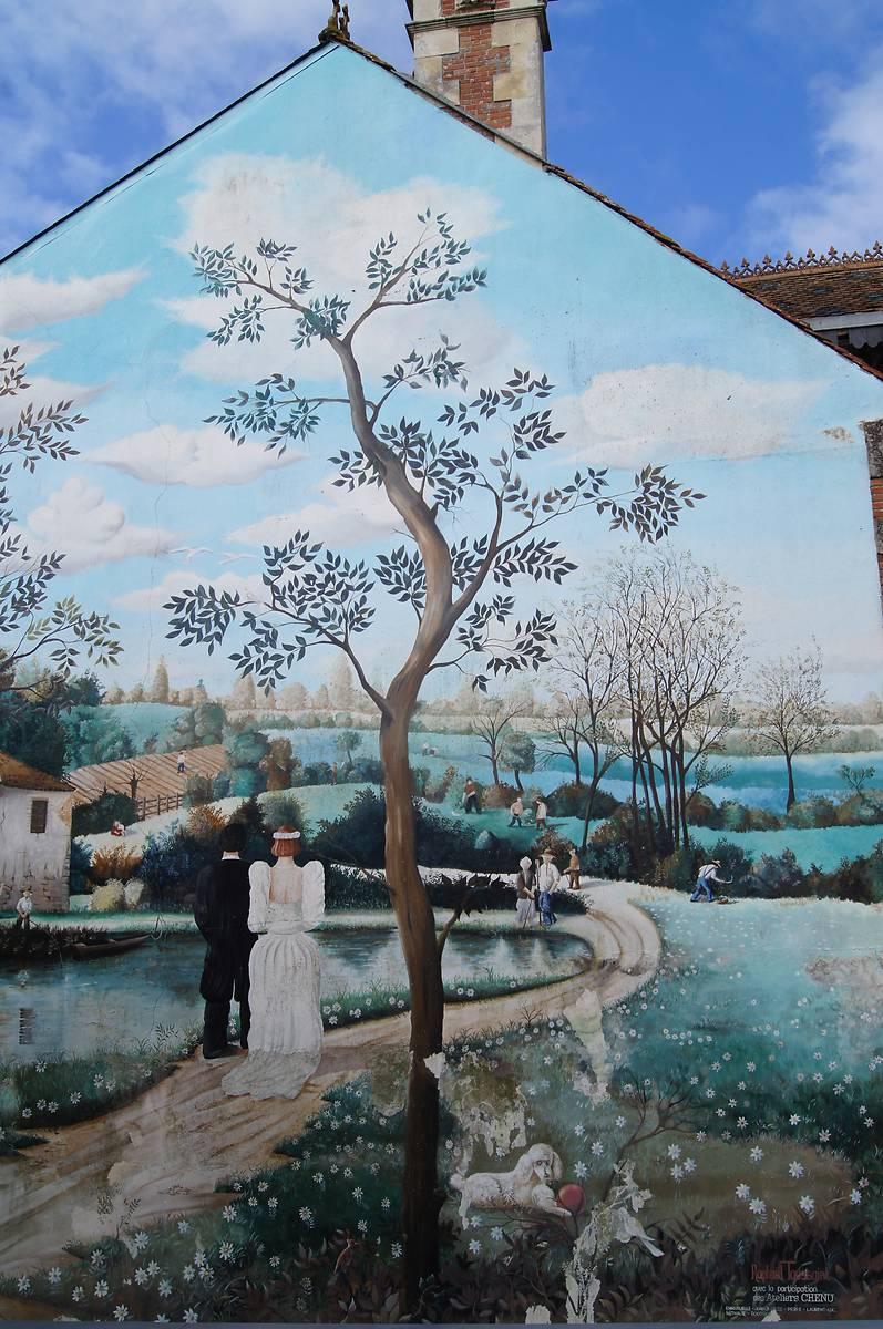 Peinture et monument au poire sur vie for Piscine poire sur vie