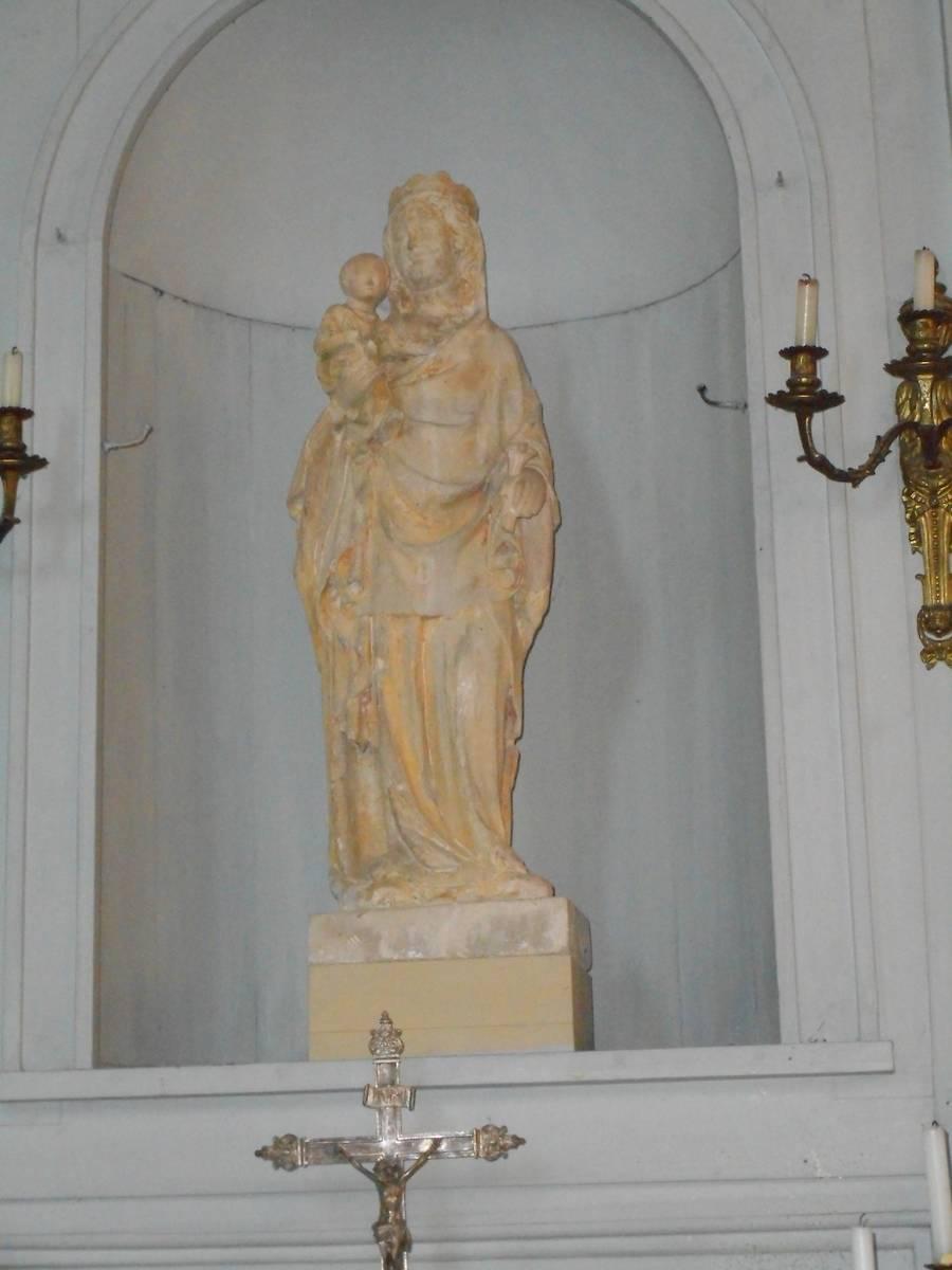 VITRAUX DE L'EGLISE DE NANTEUIL SUR MARNE