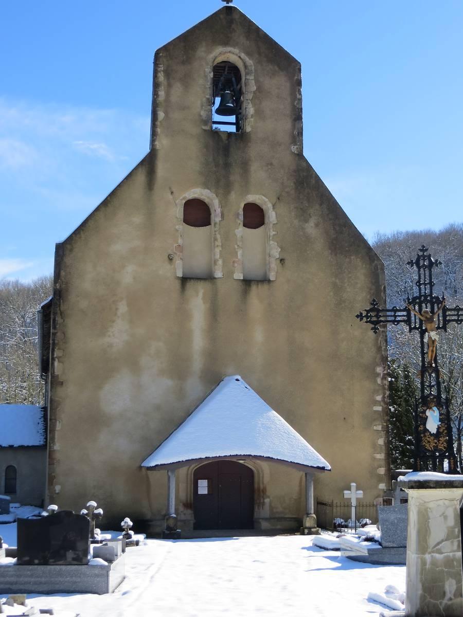 Eglise Notre Dame à Anoye, Pyrénées-Atlantiques