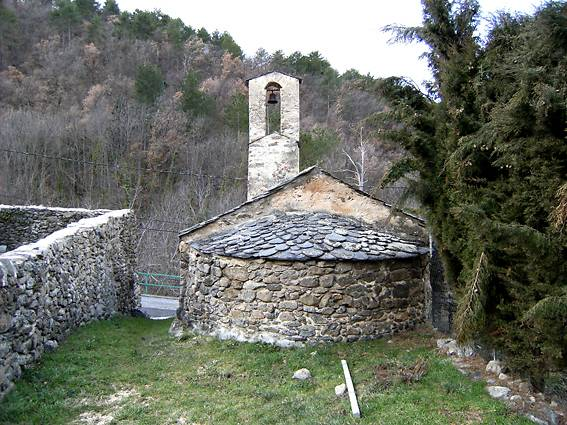 CHAPELLE SAINTE CHRISTINE D'ESCARO AYTUA
