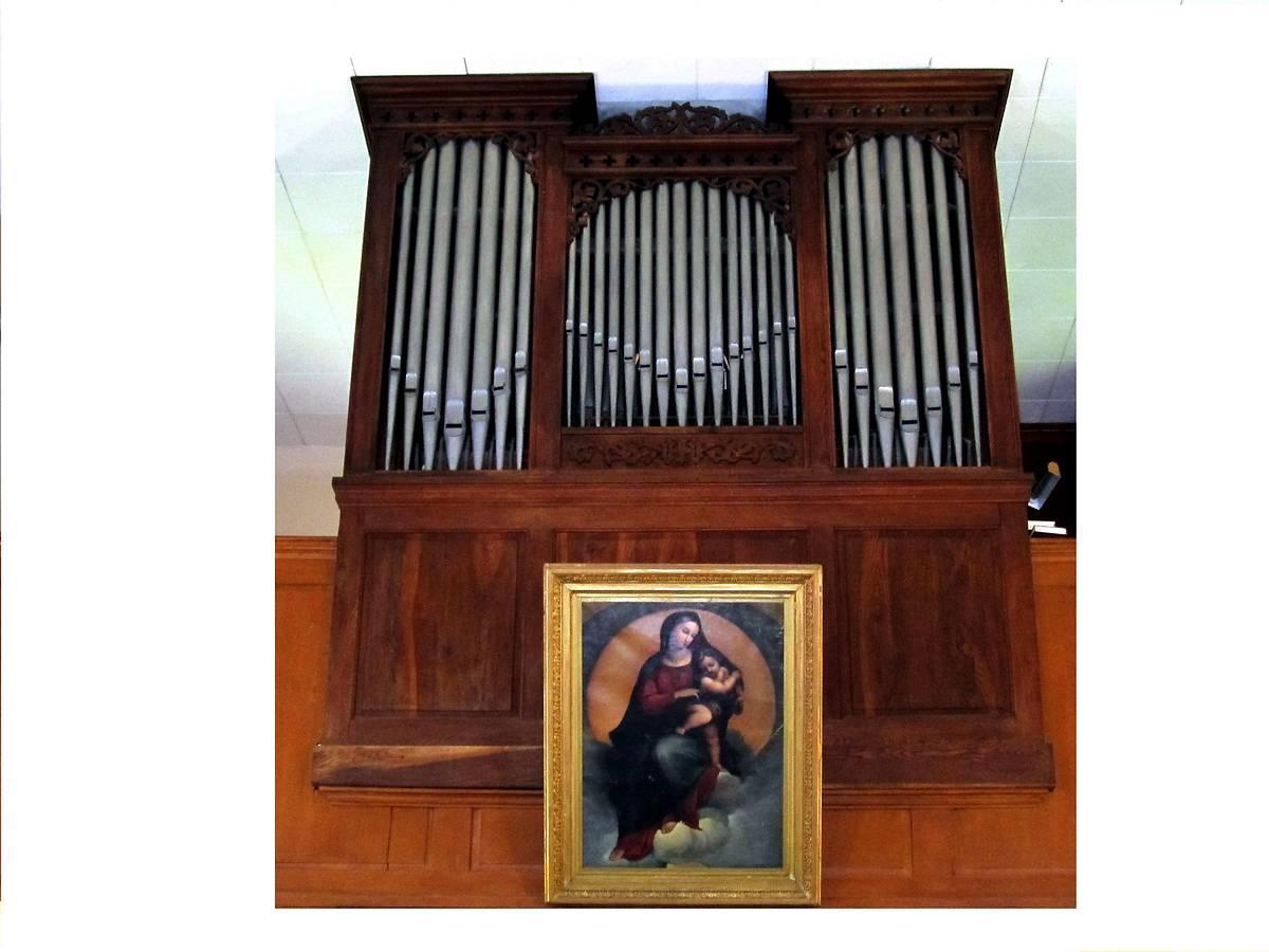 orgue wetzel de leglise protestante de siewiller