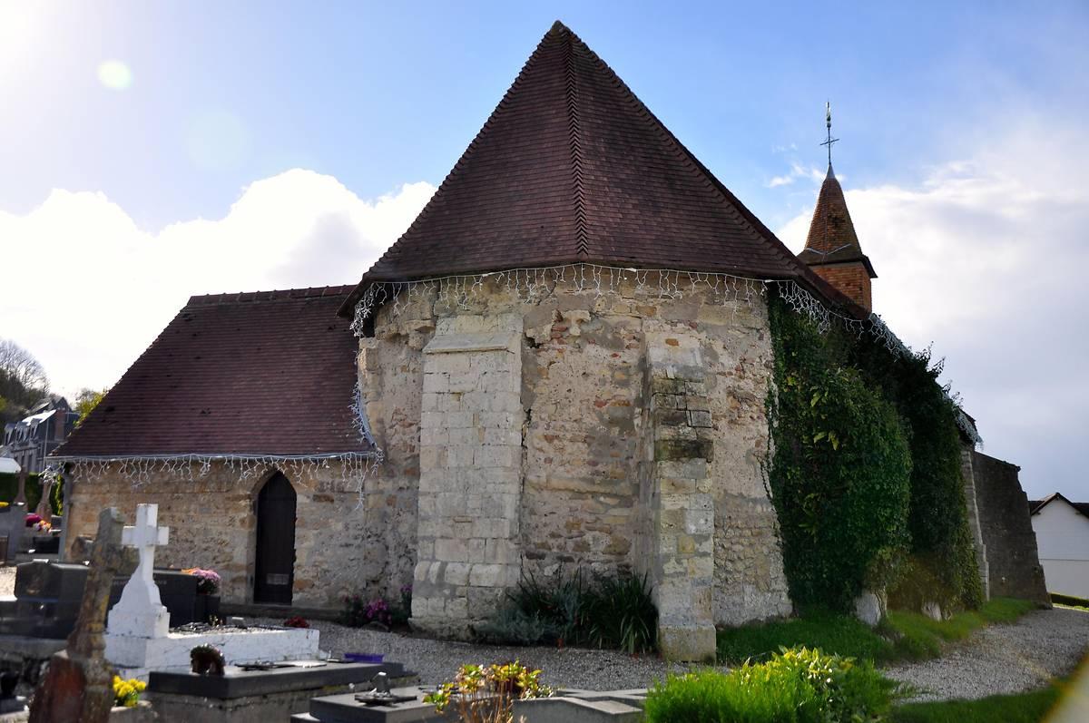 EGLISE SAINT CHRISTOPHE DE BÉNERVILLE-SUR-MER
