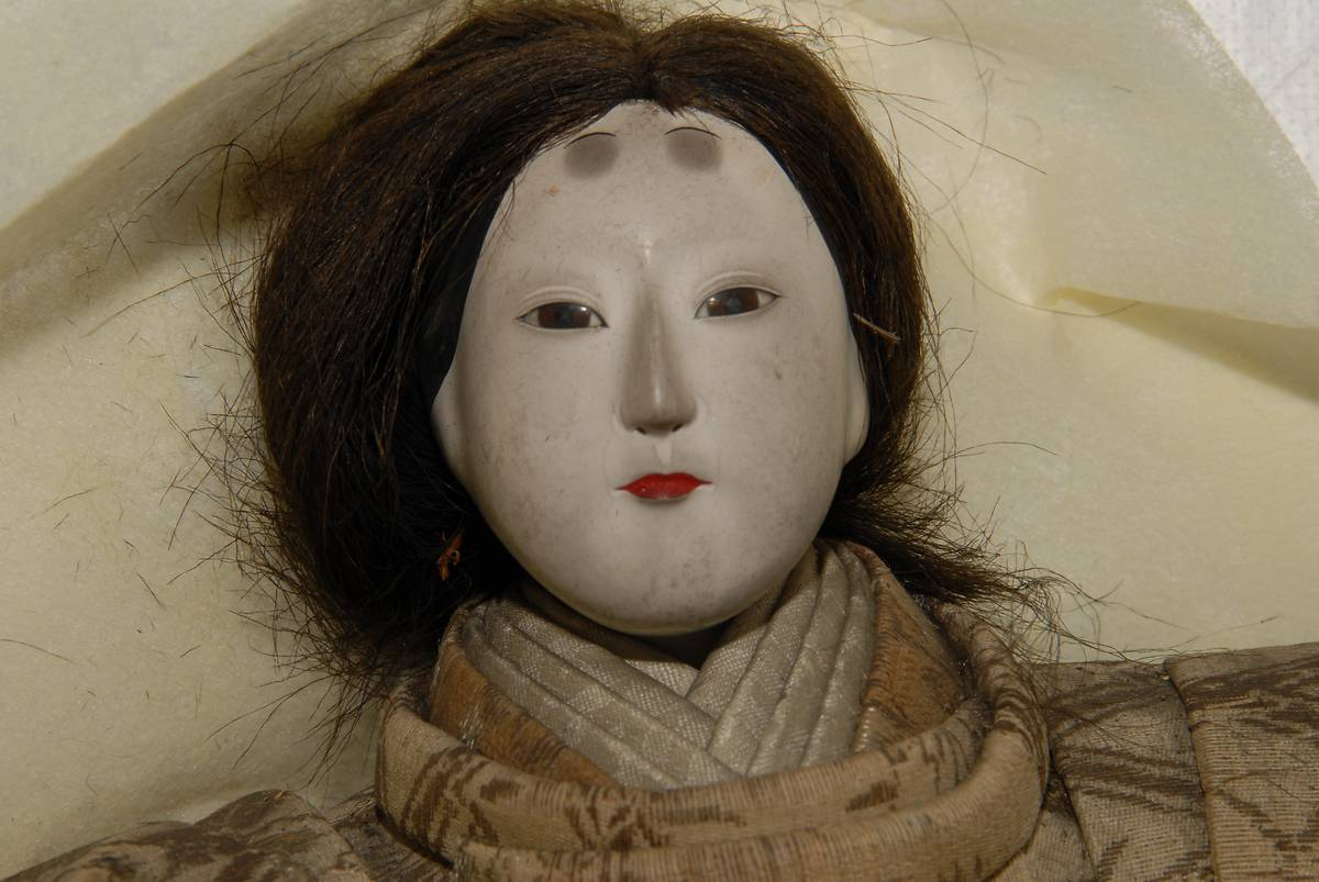 POUPEES JAPONAISES DU MUSEUM D'HISTOIRE NATURELLE DE ROUEN