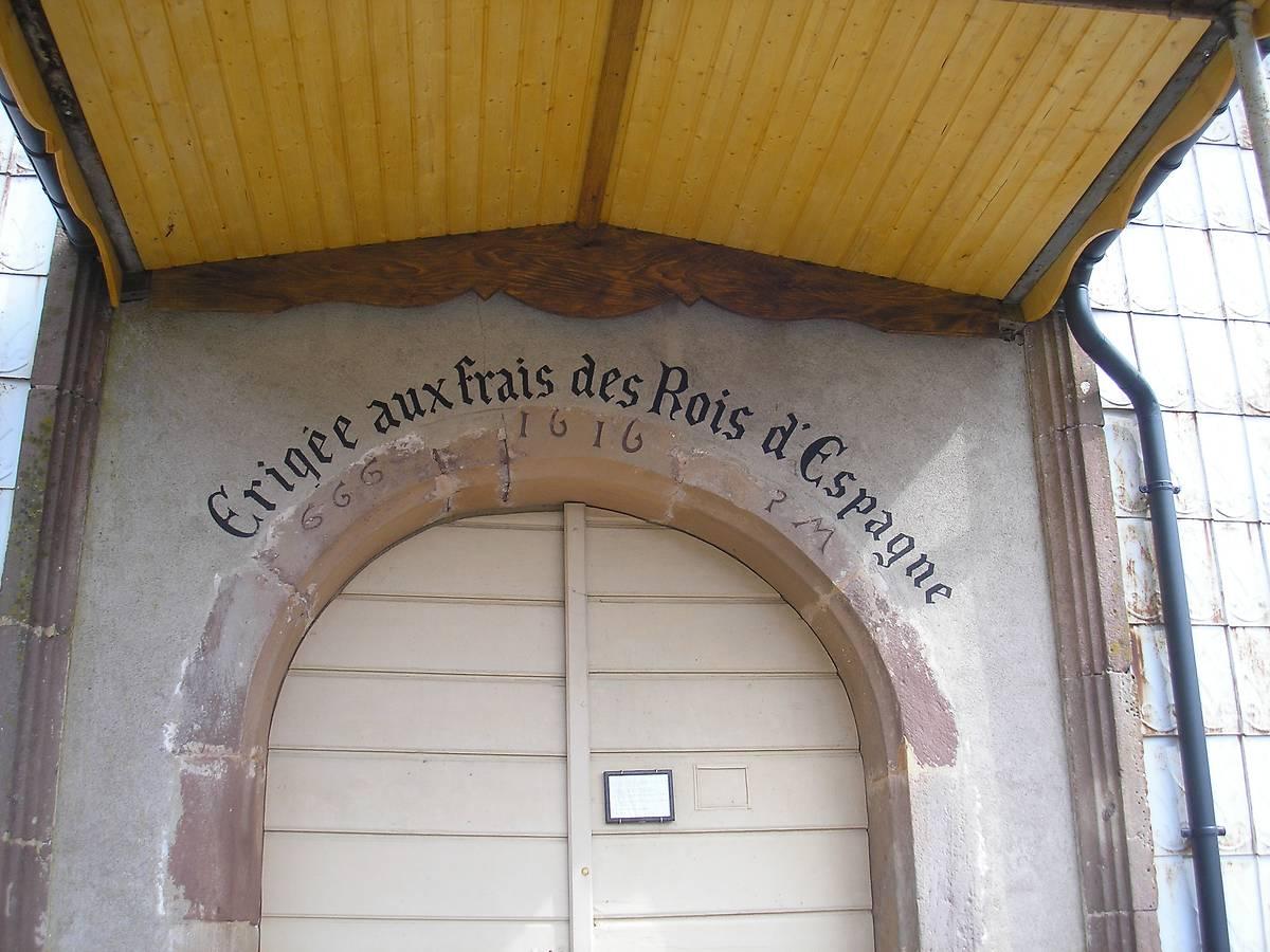 RETABLE DE L'EGLISE DE CHATEAU LAMBERT