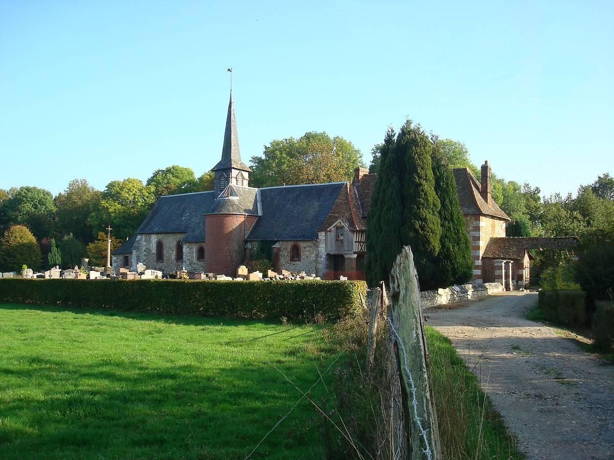 chapelle saint martin la corneille la saussaye