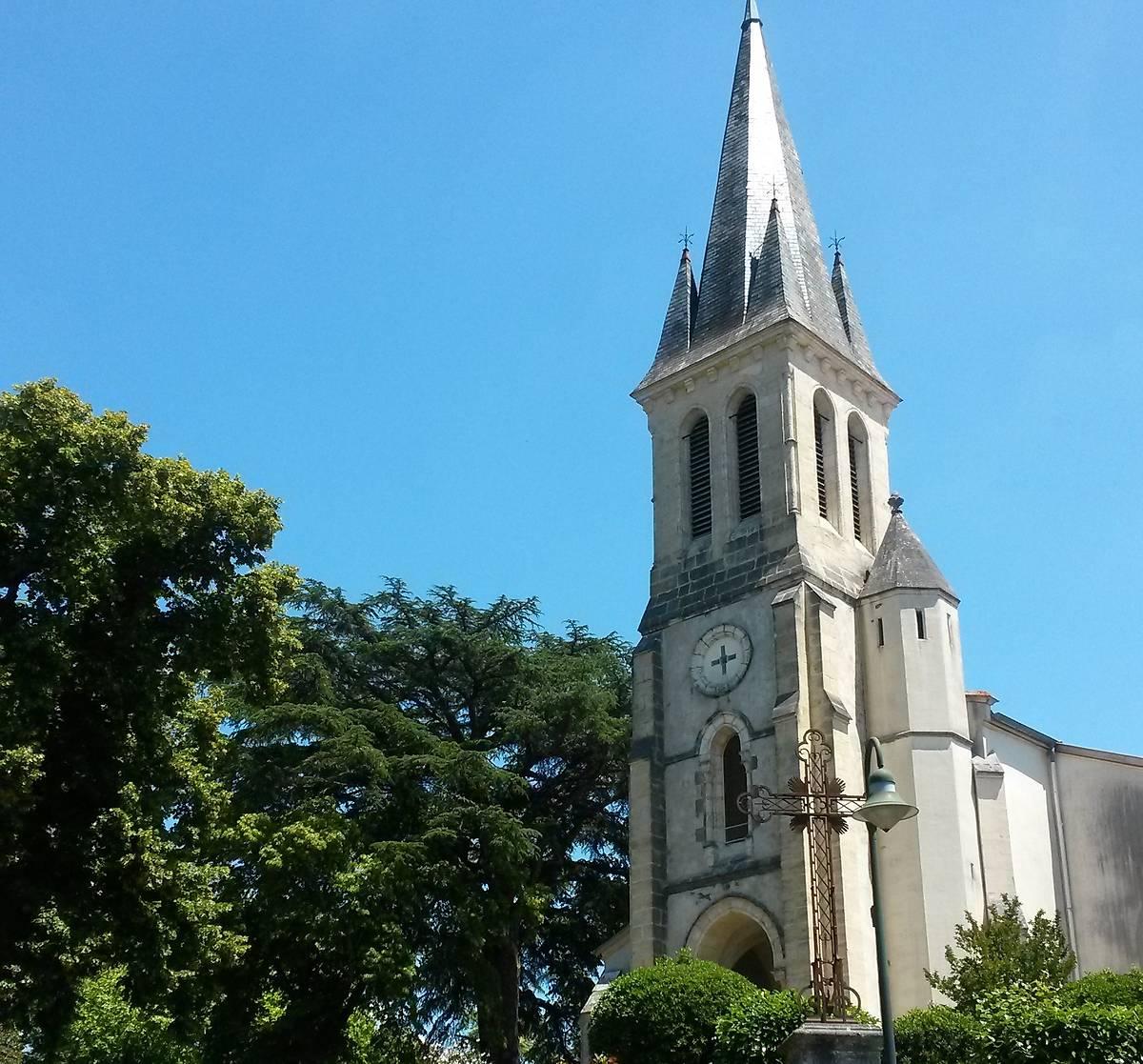EGLISE SAINT-JEAN-BAPTISTE À ONESSE-LAHARIE