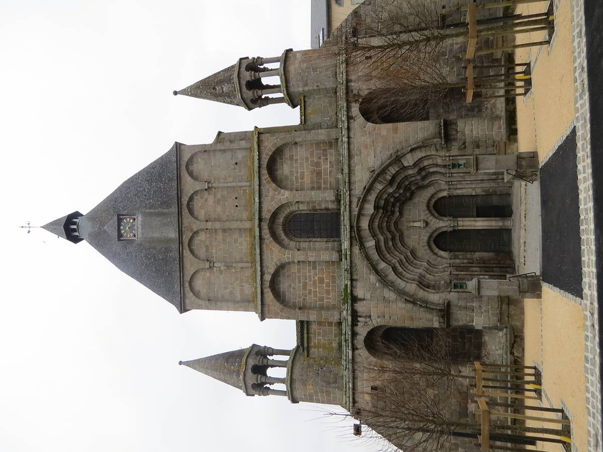 RESTAURATION DE LA COLLÉGIALE DU DORAT