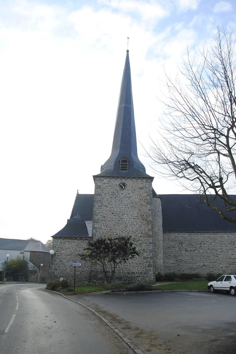 EGLISE SAINT-PIERRE SAINT-PAUL DE QUEBRIAC