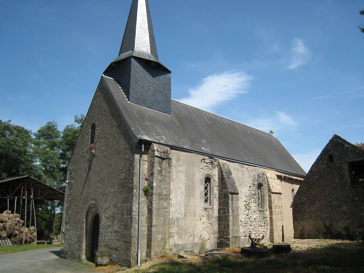 EGLISE SAINT SYLVAIN D'EGUZON-CHANTOME