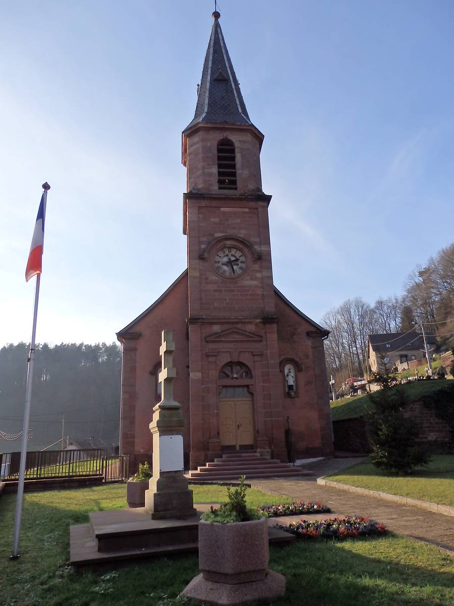 EGLISE D'ALTHORN A GOETZENBRUCK
