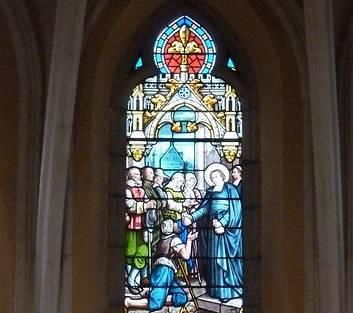 VITRAUX DE LA CHAPELLE SAINT JOSEPH DE LIMOUX