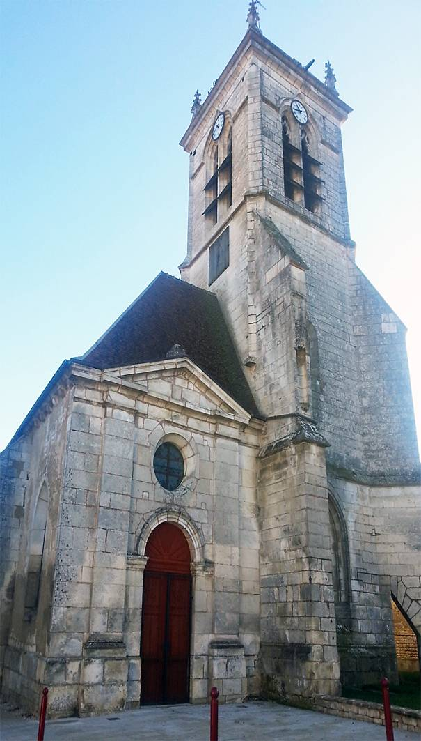EGLISE SAINT LAURENT A CHARENTENAY