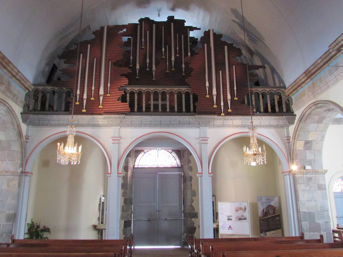 CREATION ORGUE CATHEDRALE BASSE TERRE