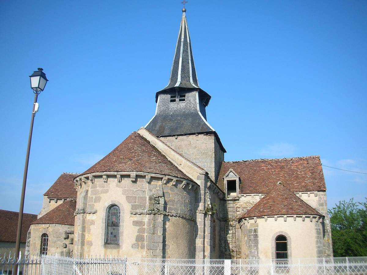 EGLISE SAINT CLAIR DE NOUZERINES