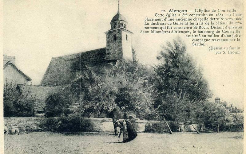 EGLISE SAINT ROCH DE COURTEILLE D'ALENCON