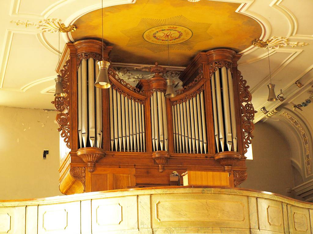 ORGUE WETZEL DE L'EGLISE DE WALSCHEID