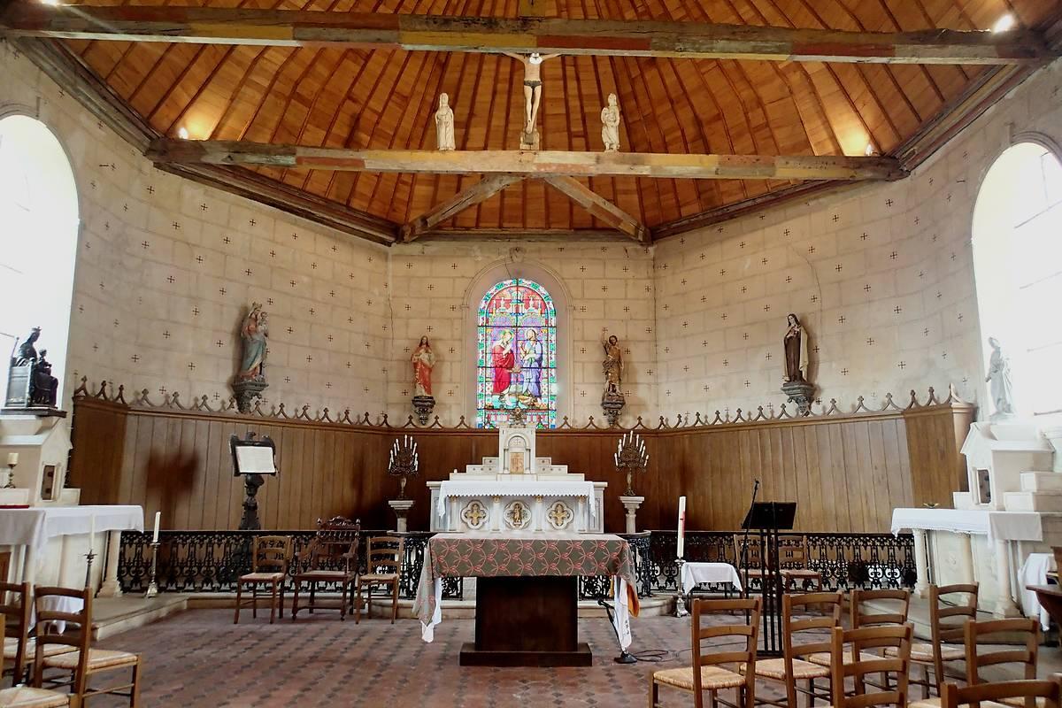 EGLISE SAINT JEAN-BAPTISTE DE LA PUISAYE
