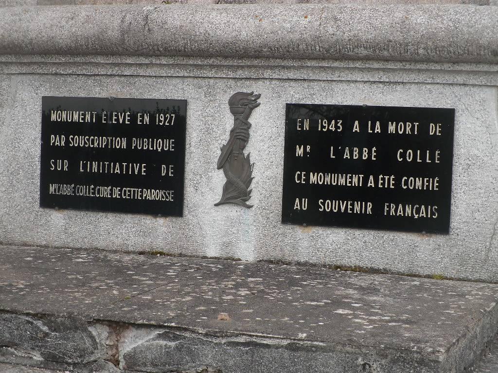 MONUMENT JEANNE D'ARC A MENIL SUR BELVITTE
