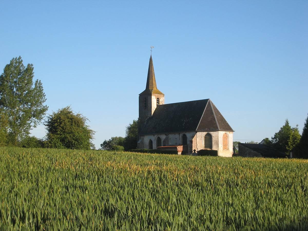 EGLISE SAINTE CROIX D'HERLINCOURT