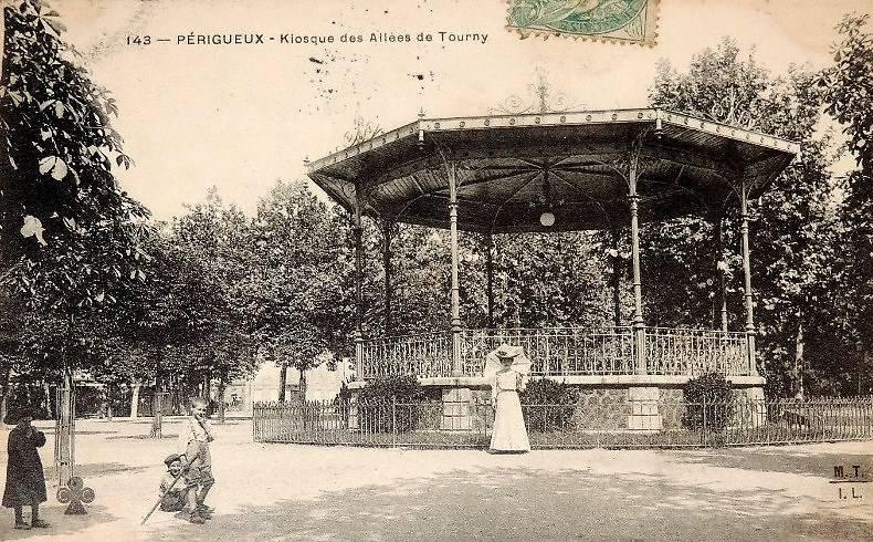 Carte postale Kiosque de Périgueux