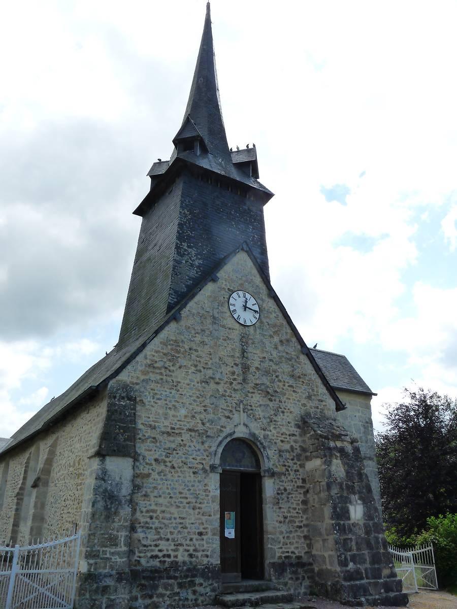 EGLISE ST MARTIN DE LA ROQUE BAIGNARD