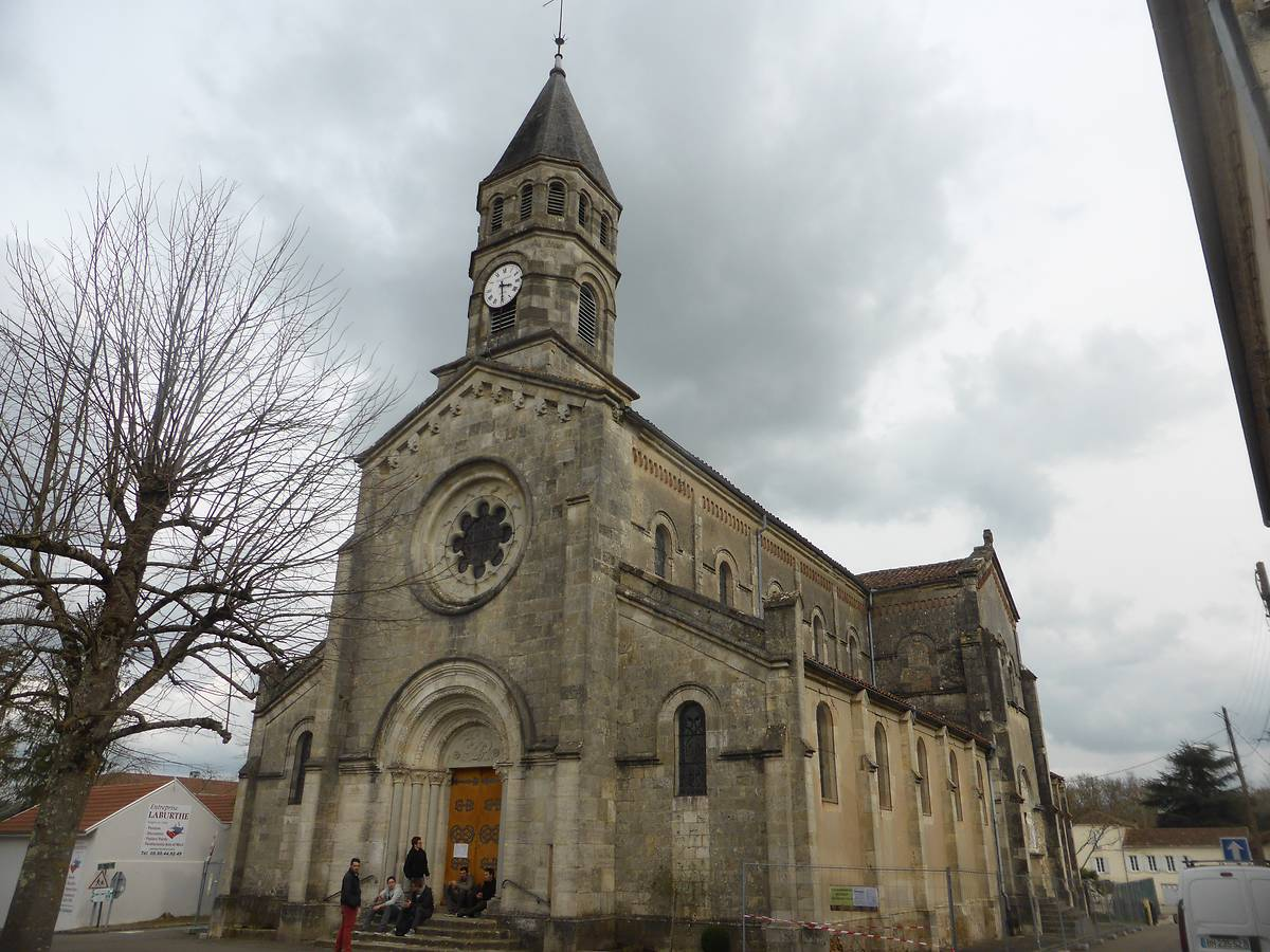 EGLISE SAINT-LUPERC À GABARRET