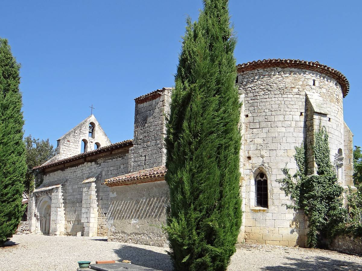Eglise Saint-Martin de Mourrens à Sainte-Colombe-en-Bruilhois