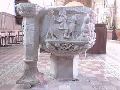 FONTS BAPTISMAUX SAINT GEORGES MOTEL