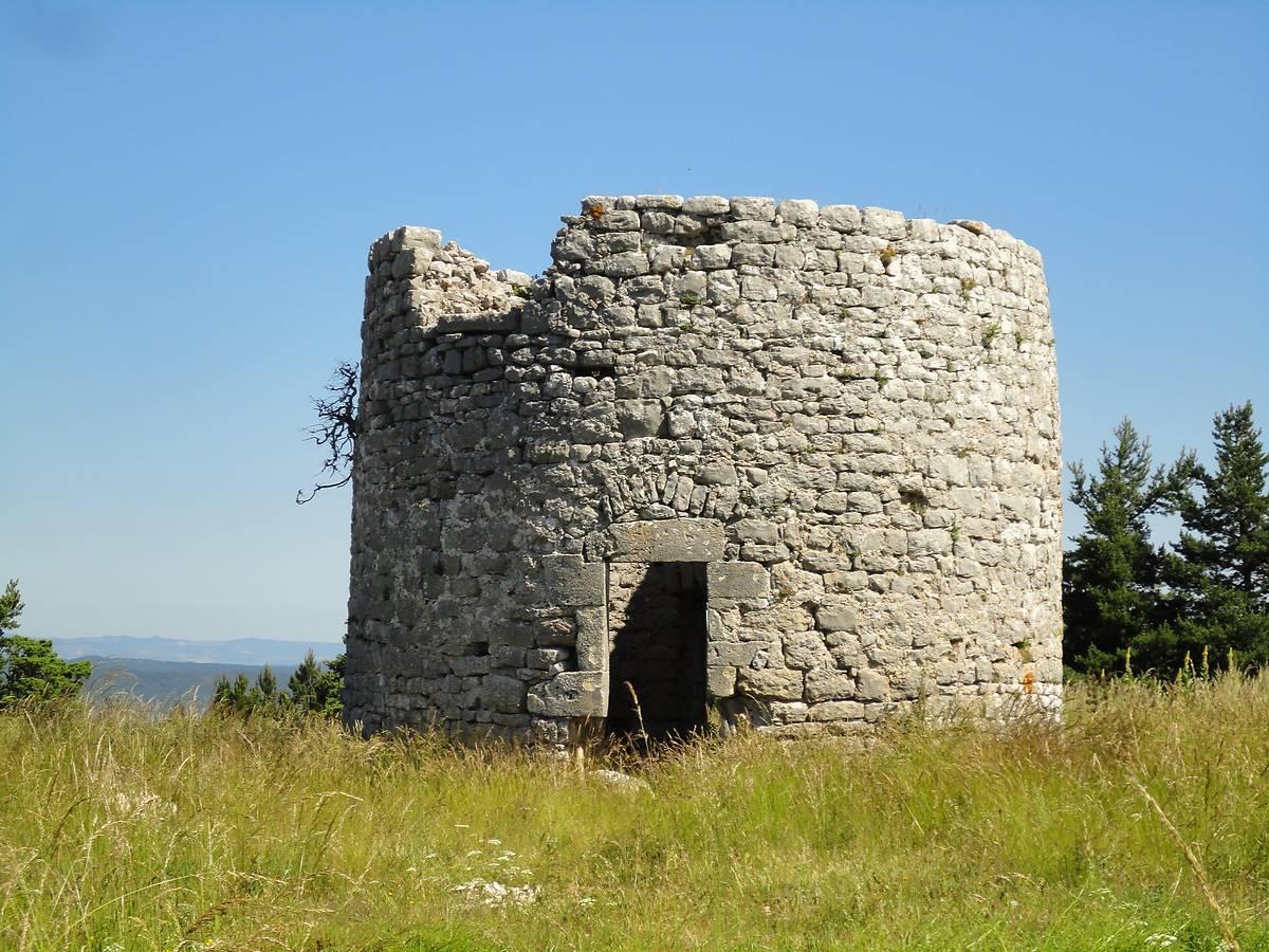 Moulin de la Borie avant travaux