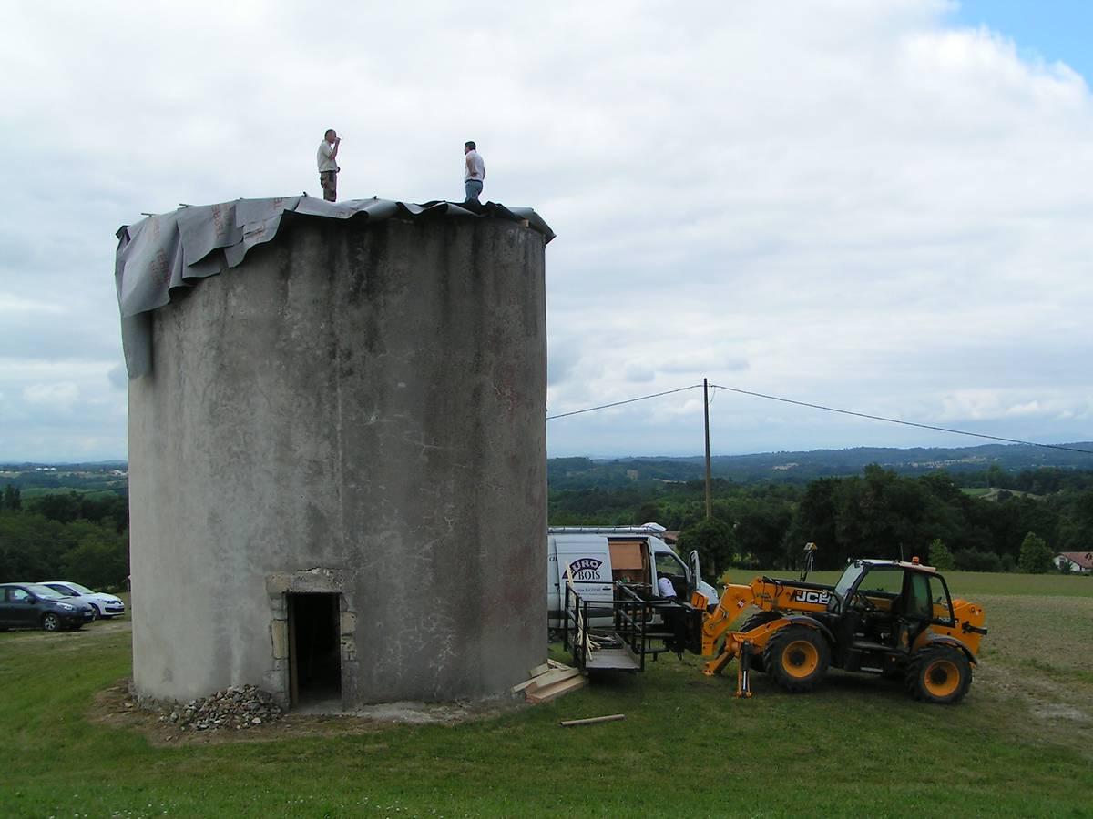 Moulin à vent à Benesse les Dax, Landes