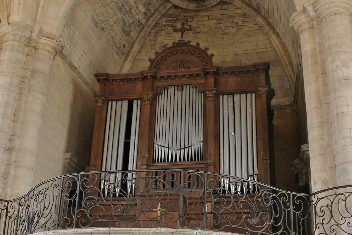 Orgue de l'église Saint-Vincent à Barsac, Gironde