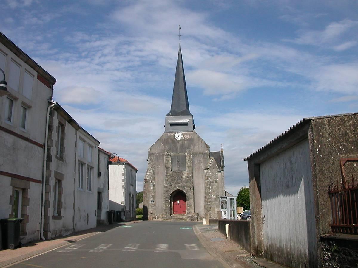 CLOCHE DE L'EGLISE DE GRAND'LANDES