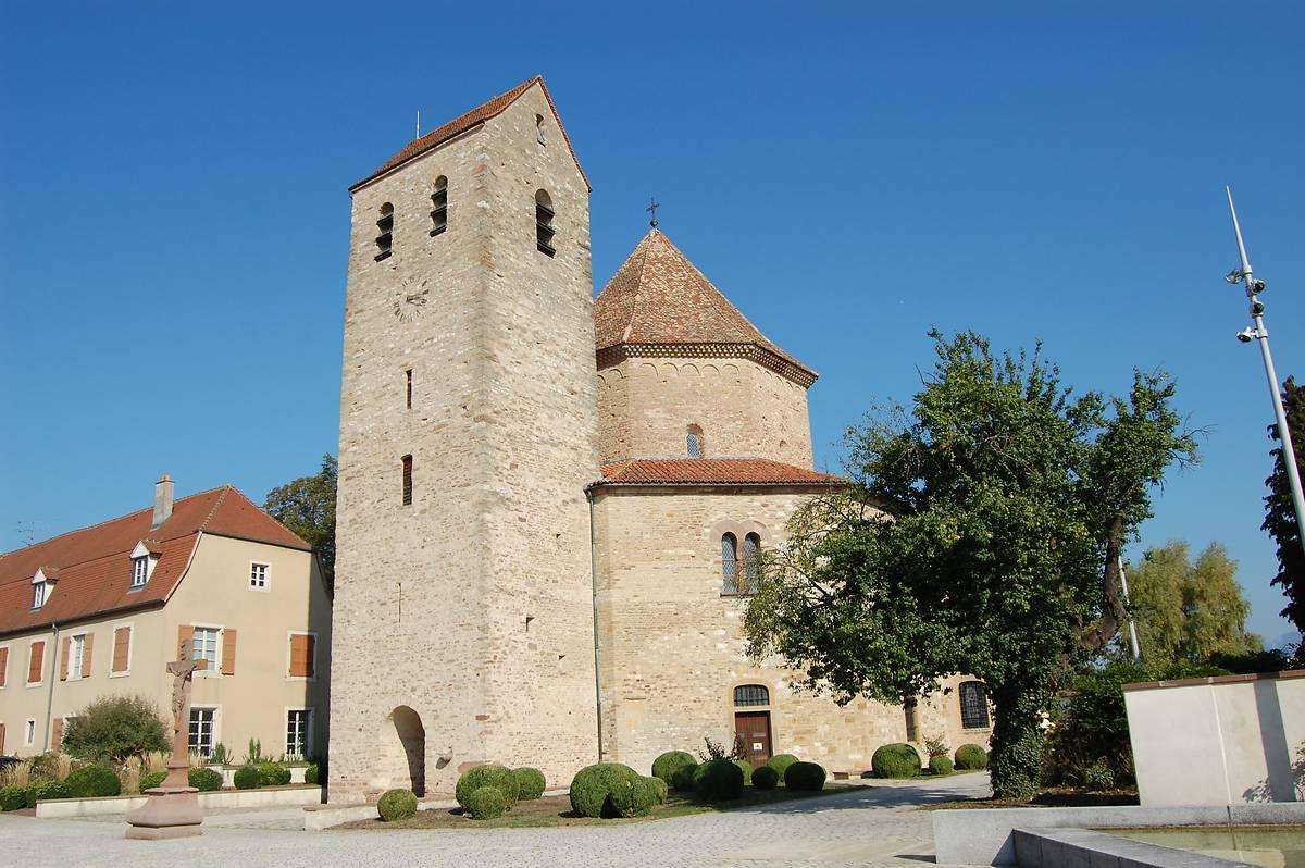 eglise abbatiale saints pierre et paul dottmarsheim