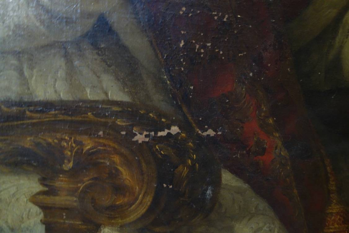 PORTRAIT DU PAPE BENOIT XIV