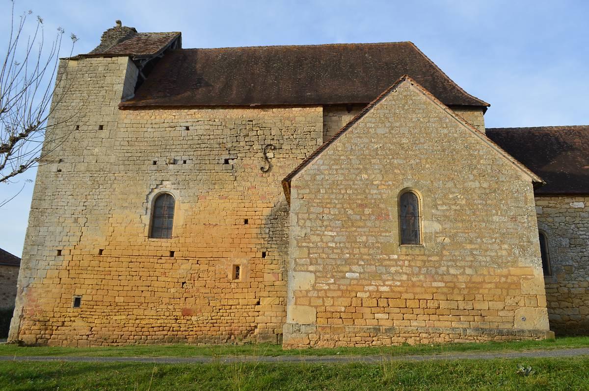 Eglise de Cussac, Le Buisson de Cadouin, Dordogne