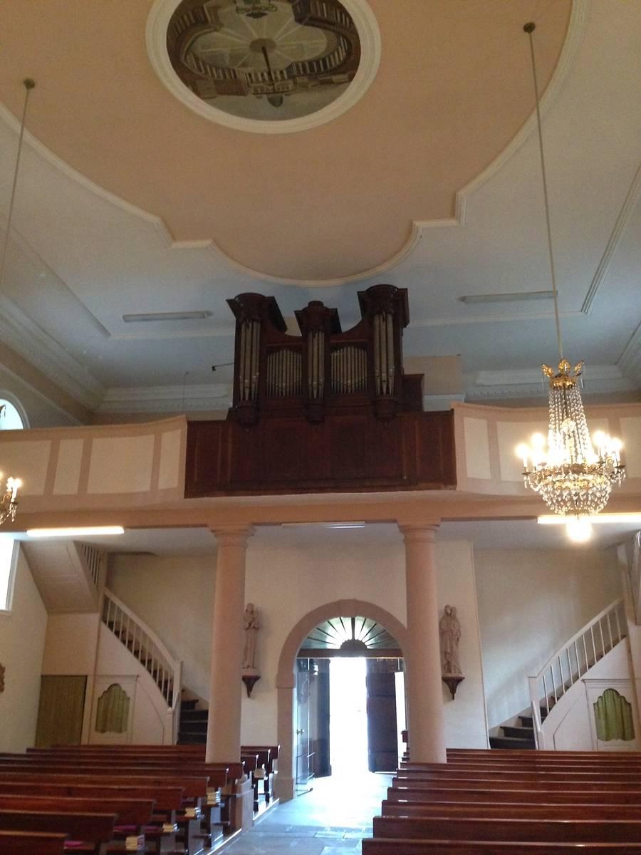 orgue callinet de lglise saints pierre et paul de wildenstein