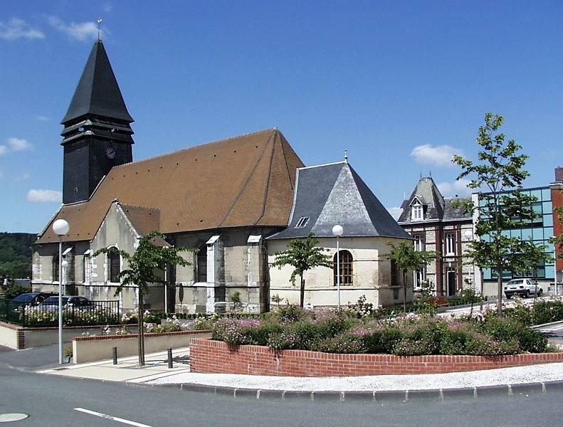 Eglise saint aubin petit couronne - La petite cheminee saint aubin ...