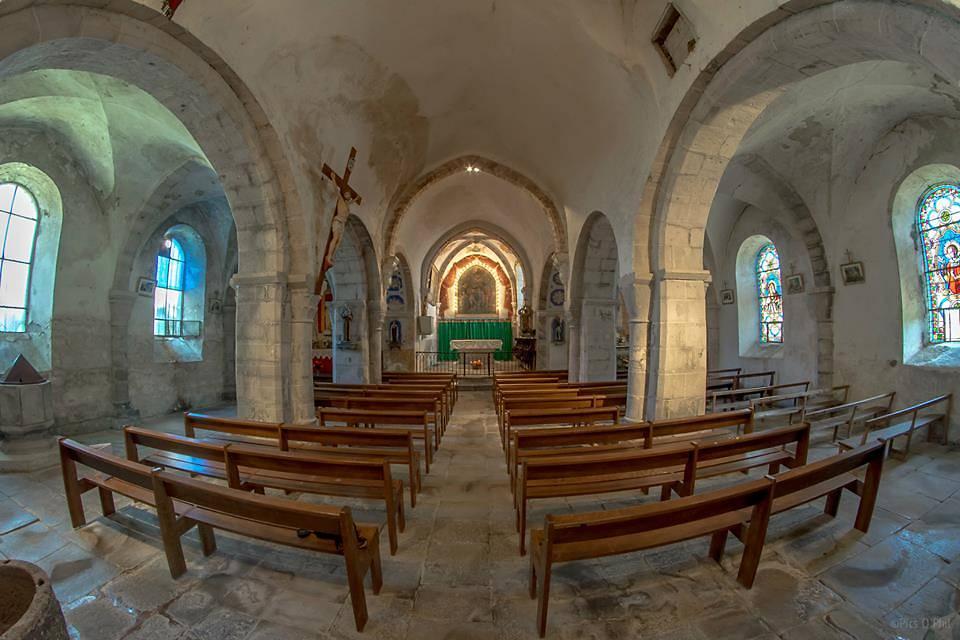 TABLEAUX DE L'ÉGLISE ST-JEAN-BAPTISTE D'OLLOIX