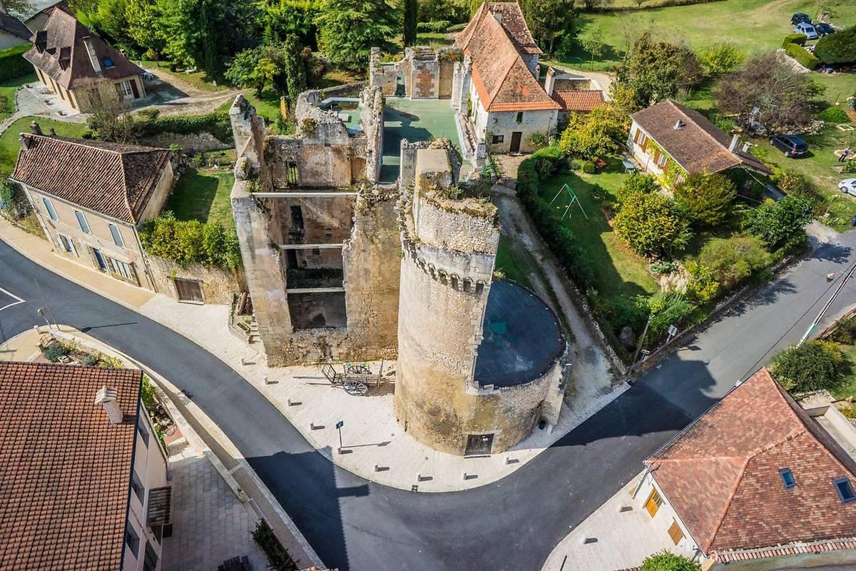 Château Barrière de Villamblard, Dordogne