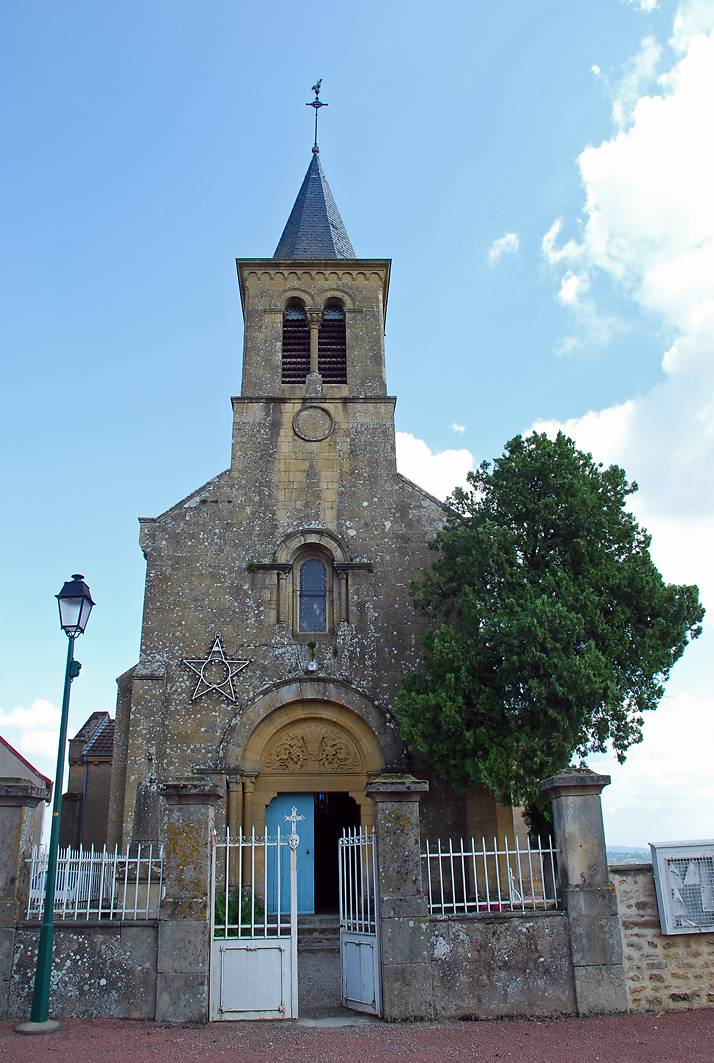 EGLISE SAINT ANDRE A PRIZY