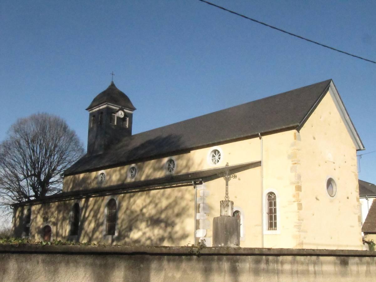 eglise paroissiale saint julien de lescar nousty