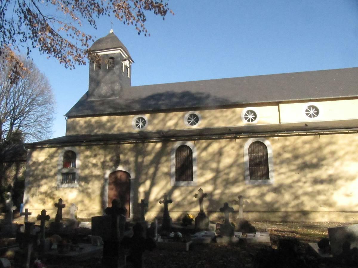 Eglise de Nousty, Pyrénées-Atlantiques