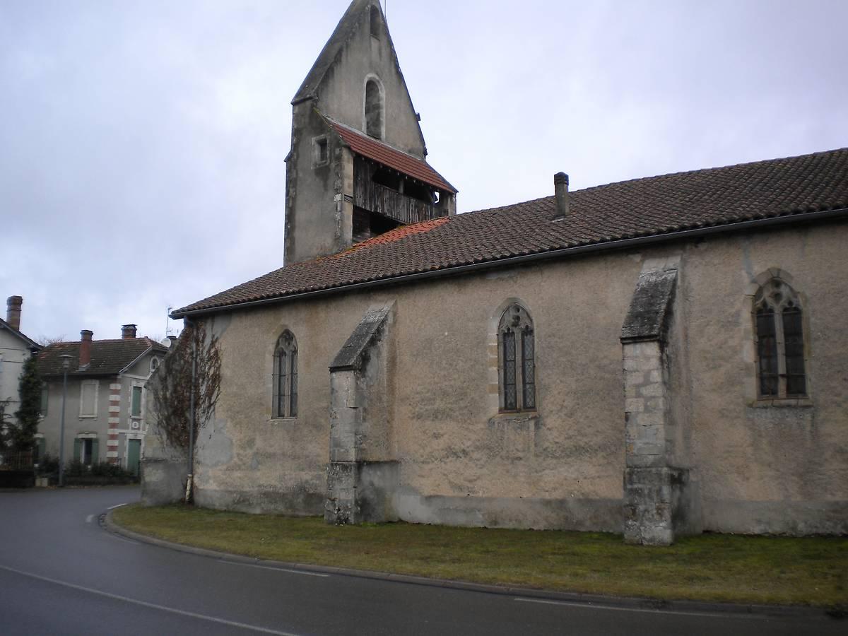 Eglise de Trensacq, Landes