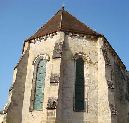 VITRAUX DE L'EGLISE SAINT-GILDARD DE LONGUESSE