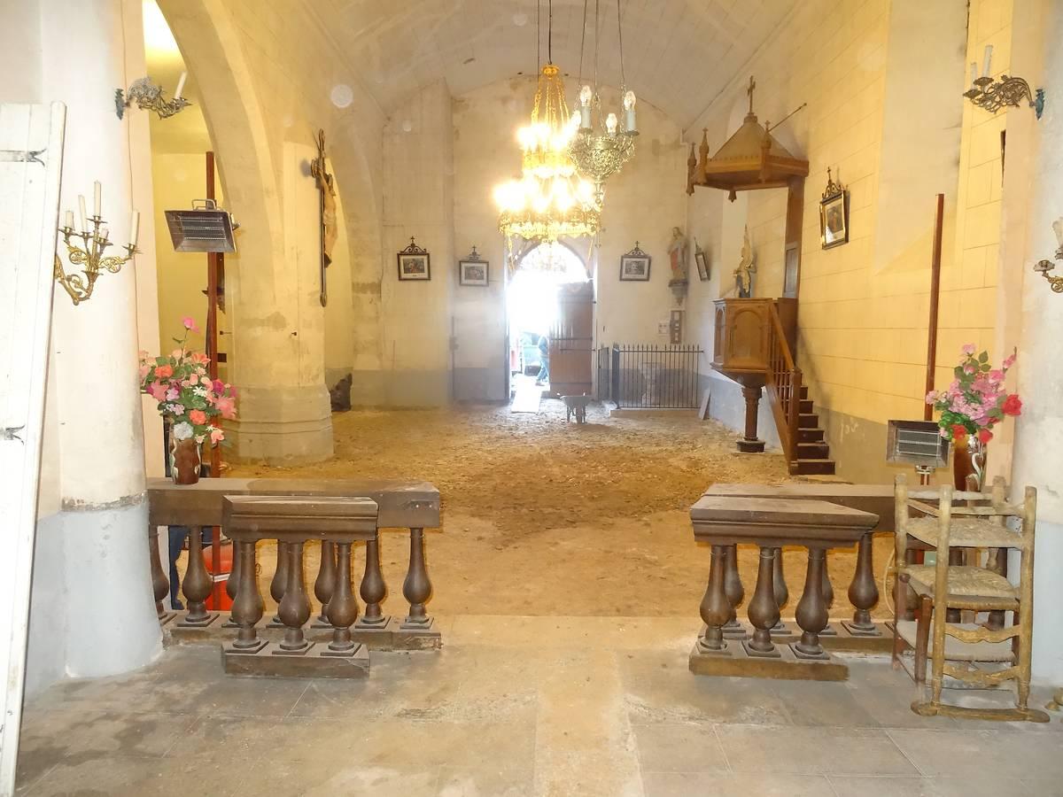 Eglise de Razac d'Eymet, Dordogne