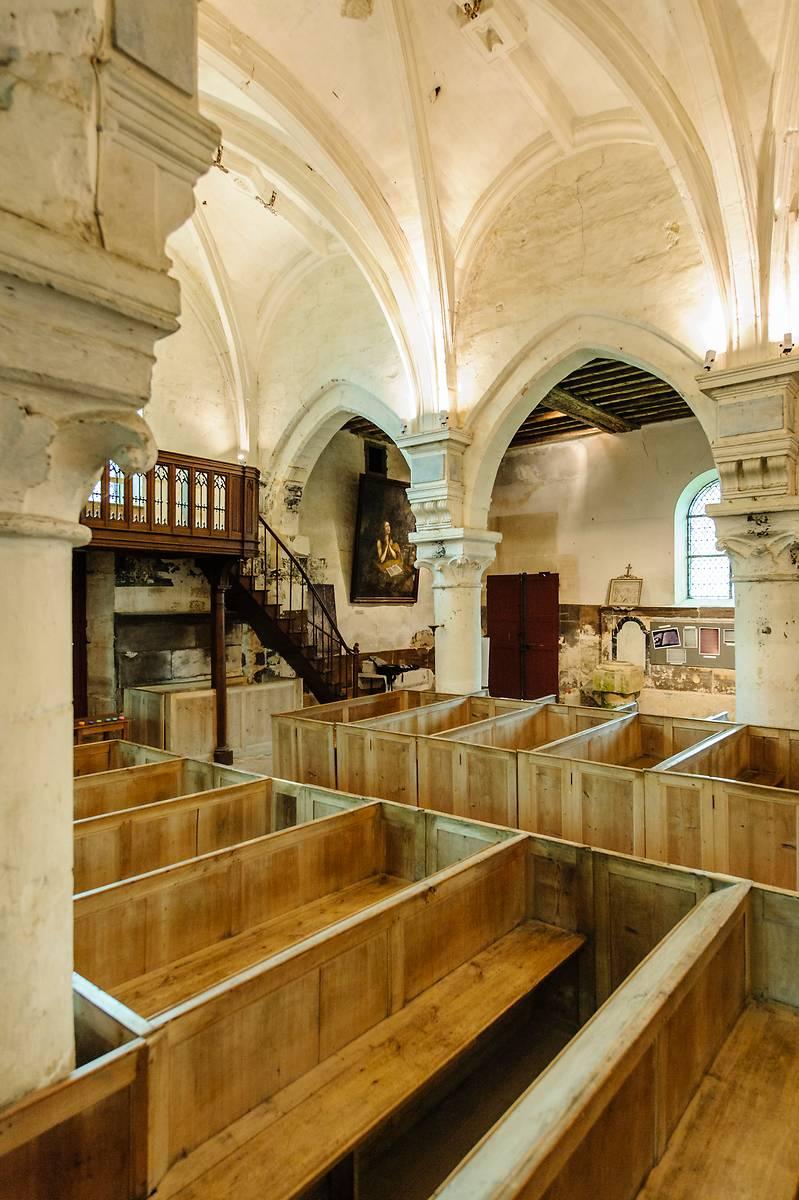 Vues de l'église Notre-Dame de Théméricourt avant travaux