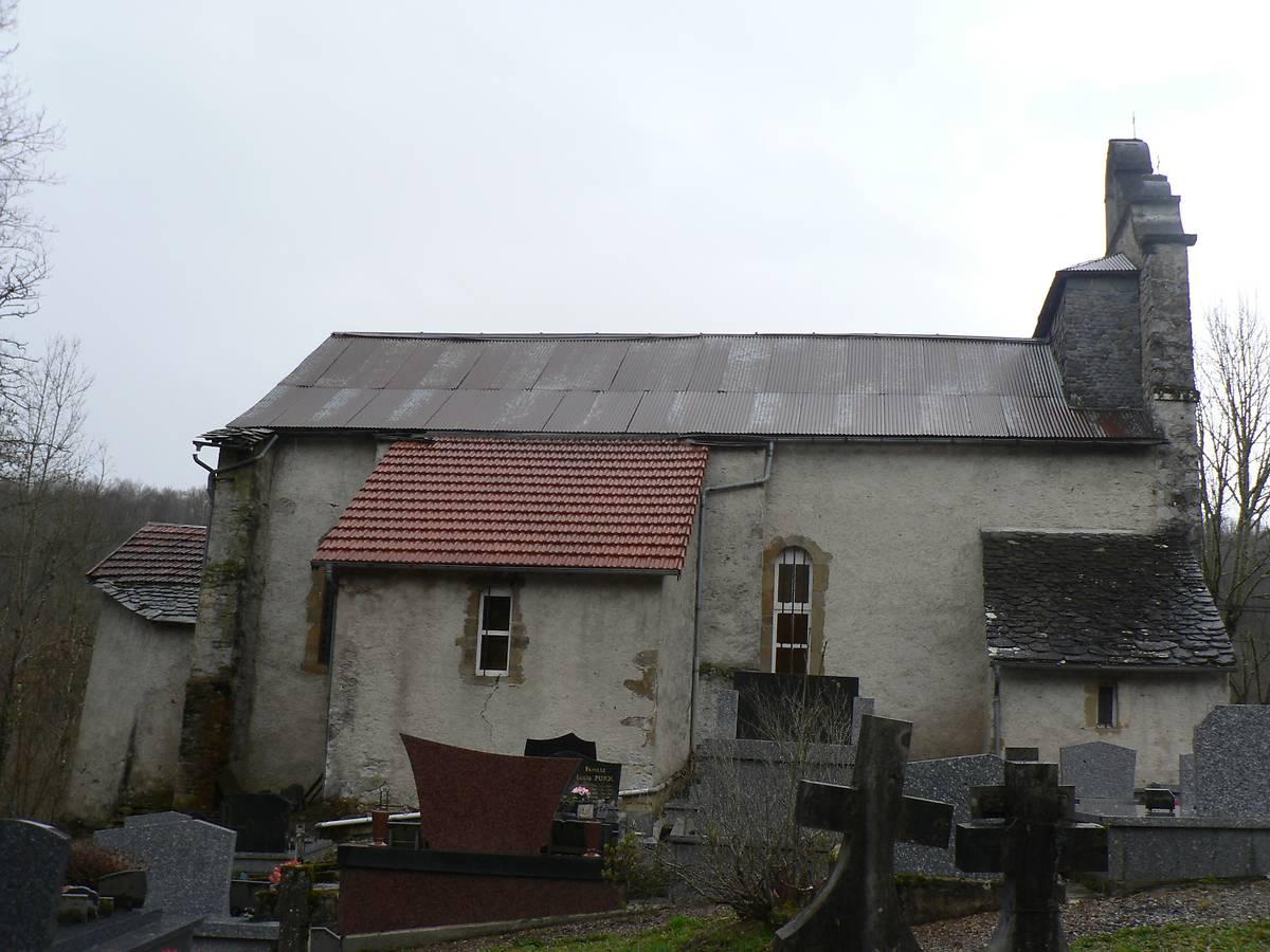 Eglise de Rogalle à Soueix-Rogalle (Ariège)