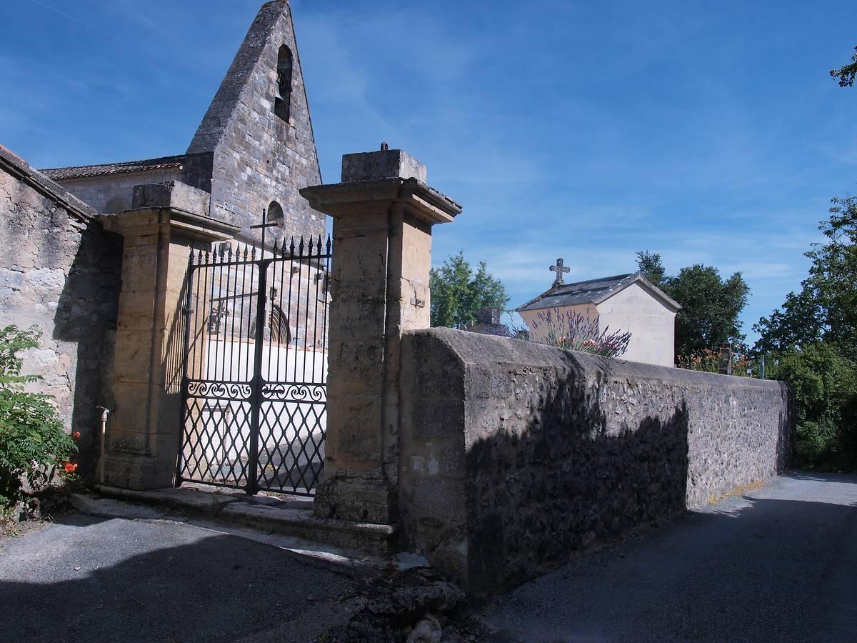 Eglise Saint-Barthélemy à Devillac