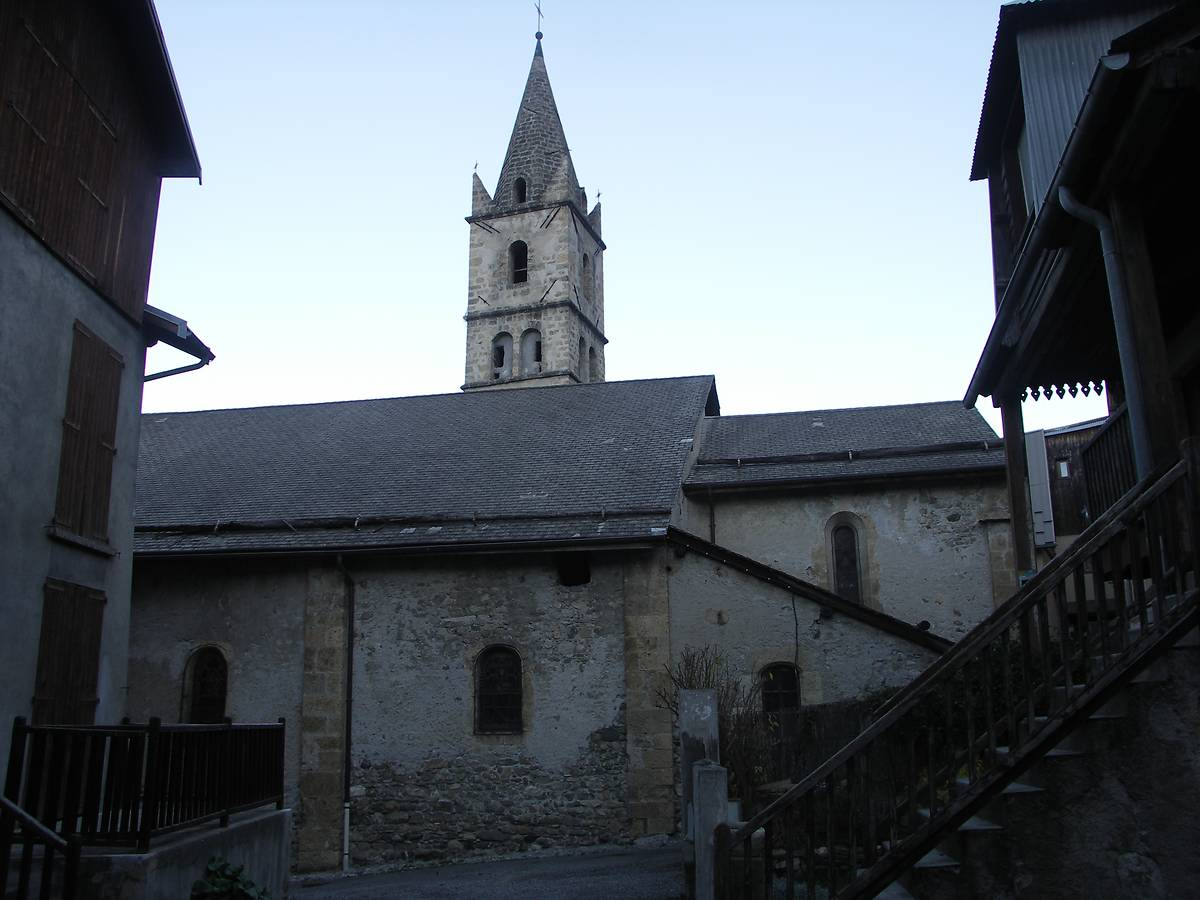 EGLISE SAINT LAURENT - CROTS