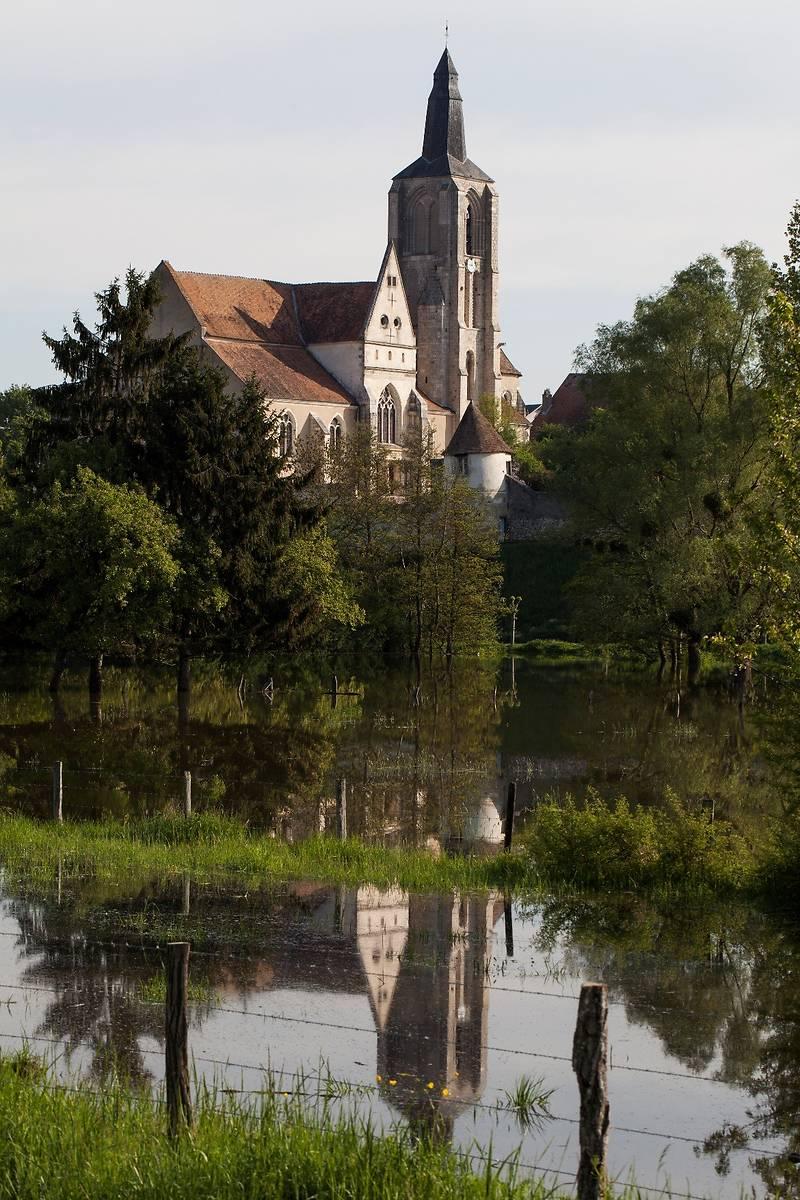 Eglise Saint Aignan de Bonny sur Loire